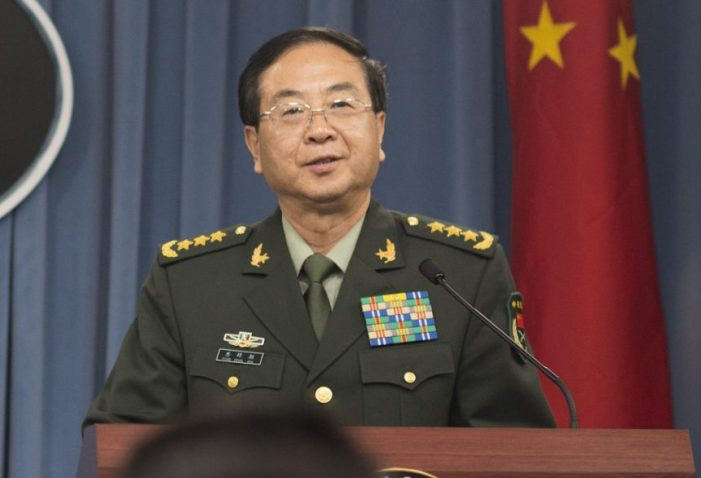 Communist China military purge intensifies on eve of crucial Party plenum