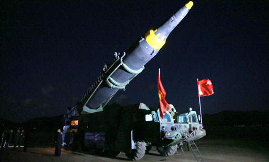 Photo analysis reveals launcher of N. Korean missile had foreign origins