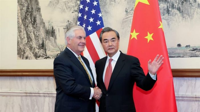 Removal of Taiwan flag by Tillerson's State Dept. fits pattern at odds with Trump