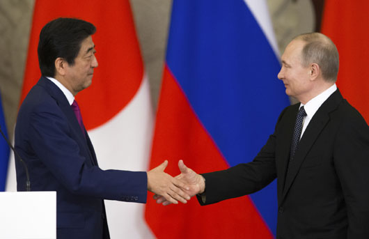 Japan-Russia rapprochement? Beijing fights entente linking Europe, Northeast Asia