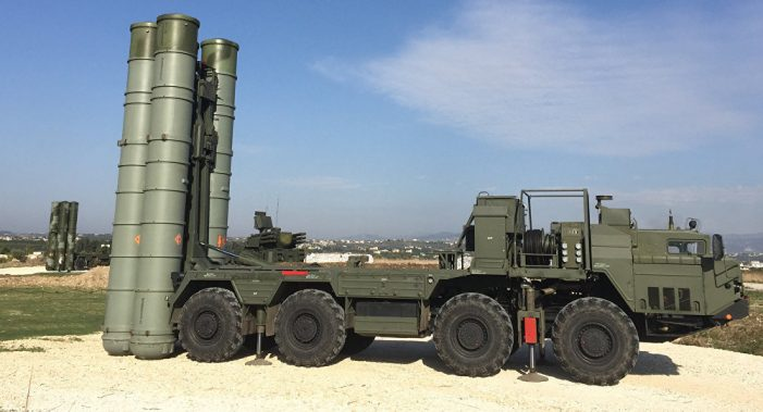 Russia confirms air defense missile deal with Turkey in blow to China