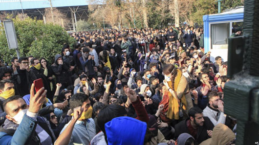 Search on for leaders behind the 1979-like uprising against Iran regime