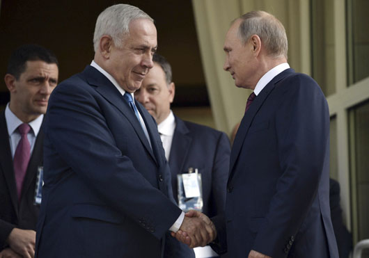 In Moscow, Netanyahu makes clear Israel's stand on Iran's Syria presence