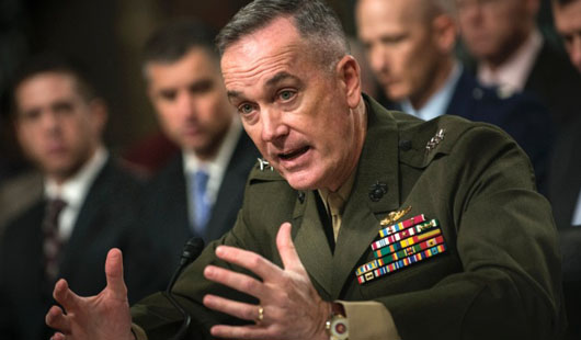 Chairman of Joint Chiefs of Staff insists U.S. not leaving Asia; War with N. Korea would be 'nasty'