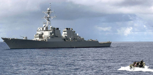 International naval showdown looms in the South China Sea