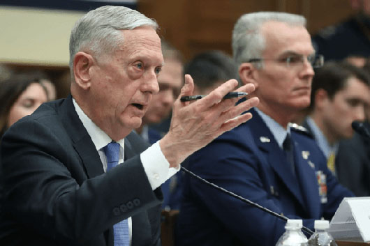 Mattis details military buildup plan based on Nuclear Policy Review