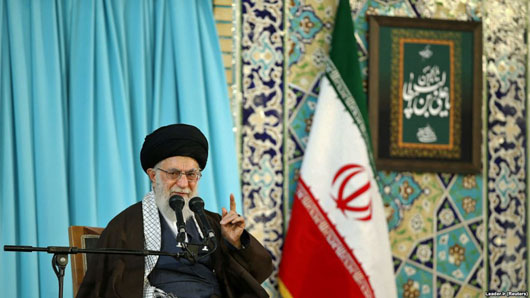 Facing unity between U.S., Israel, Saudi Arabia, France and UK, Khamenei declares victory