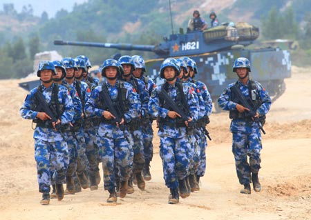 China, Taiwan military posturing moves intensify