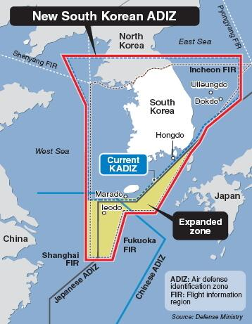 New tensions in Far East as Chinese military aircraft intrude in Korean KADIZ