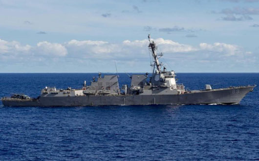 New U.S. Navy FONOP rattles Beijing at critical juncture