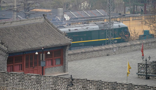 Secrecy suggested North Korean train to Beijing was on urgent mission