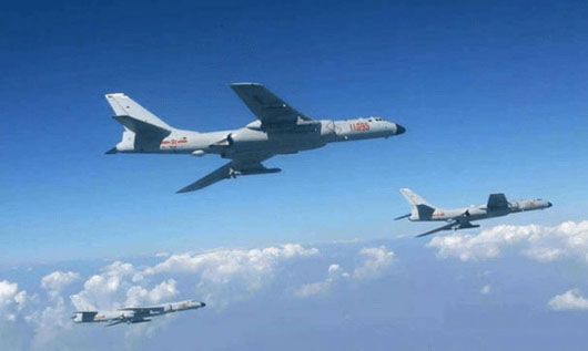 China stages live-fire naval drill, bomber runs, psy-war ops to intimidate Taiwan