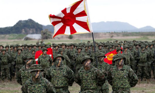 Japan activates first Marines unit since the end of WWII