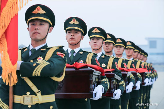 South Korea returns Chinese soldiers' remains in show of accommodation