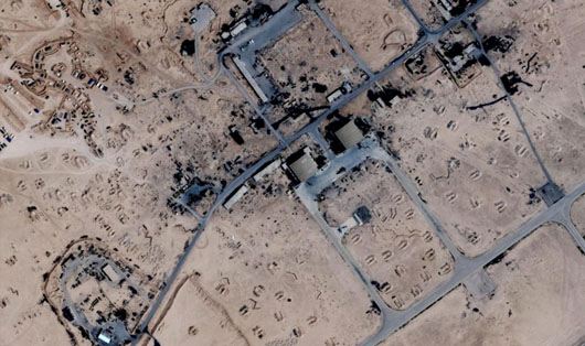 U.S., but not Russia got advance warning of Israeli airstrike on Homs base
