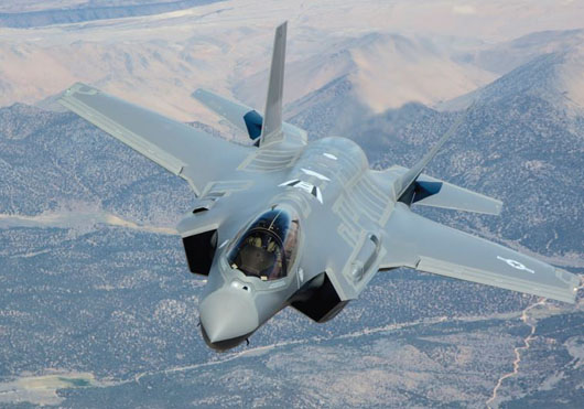 With two strikes, Israel makes first combat use of F-35