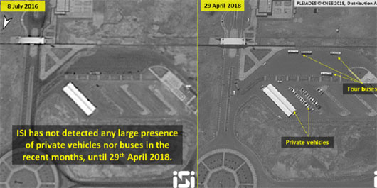 Satellite photo shows 'exceptional activity' at Iran's Fordow nuclear site