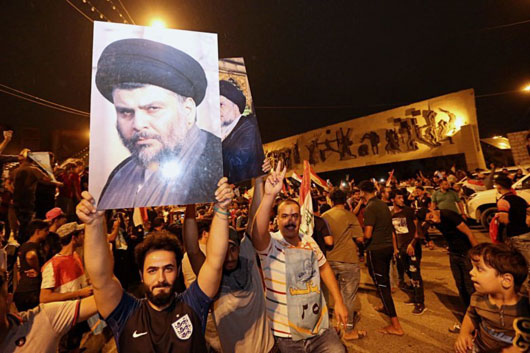 Iraq for Iraqis: Election boosts Sadr whose nationalism now targets Iran
