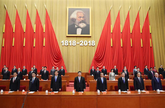 Karl Marx: As only government to honor his 200th birthday, China went all out