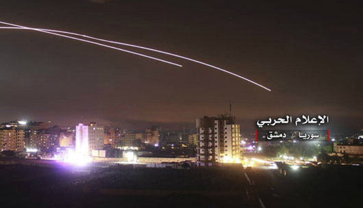 After punishing Israeli airstrikes, Russia presses Iran forces' withdrawal from border