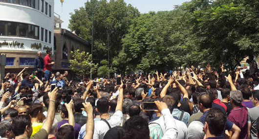 Reports: Dissent against Iran regime spreading, protesters taking up arms