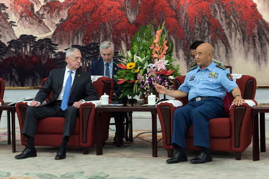 Mattis takes the measure of powerful Chinese general who took down Xi rivals