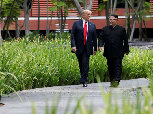 Singapore Summit – II: Trump delegates rebuilding of N. Korea to regional powers