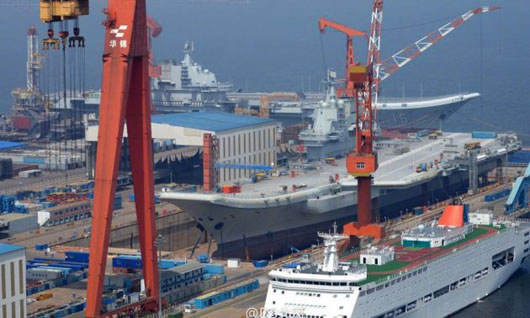 China's carrier project suffers new human, technological setbacks
