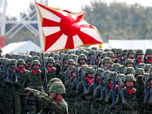 Rapidly-strengthened U.S.-Japan-India military ties counter China