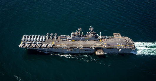 Iran fast boats came with 300 yards of CENTCOM commander; 'Unprofessional incidents' decline