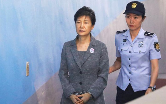 Report: 'Total success' of N. Korean 'hybrid warfare' sent South's President Park to prison