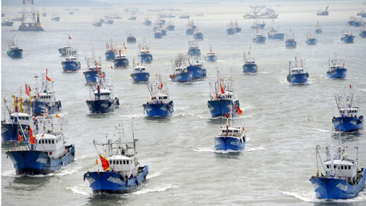 U.S., Japan to train South Pacific islanders to repel illegal Chinese fishing