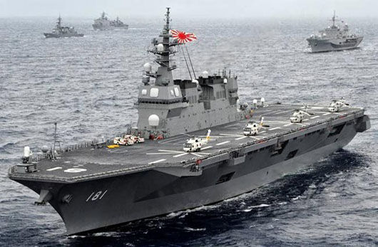 Japan weighs converting helicopter carriers to accommodate F-35s