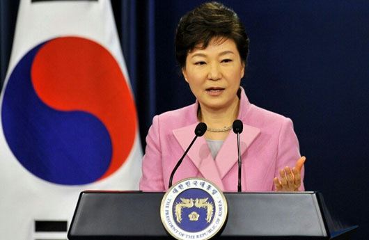 Report: Former President Park ran influence operation in North Korea using USB, SD cards