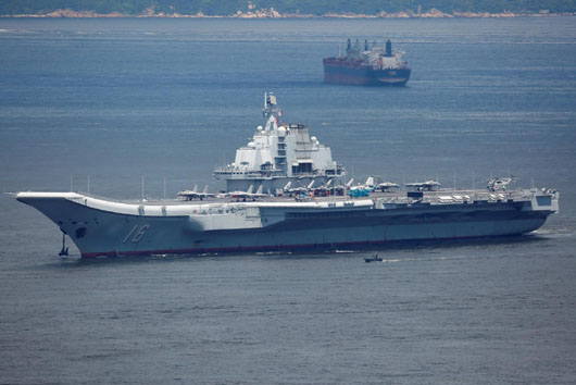 China building infrastructure to support 10 aircraft carriers