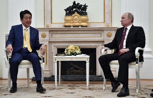Abe-Putin Summit fails to solve post-WWII dispute over Northern Territories