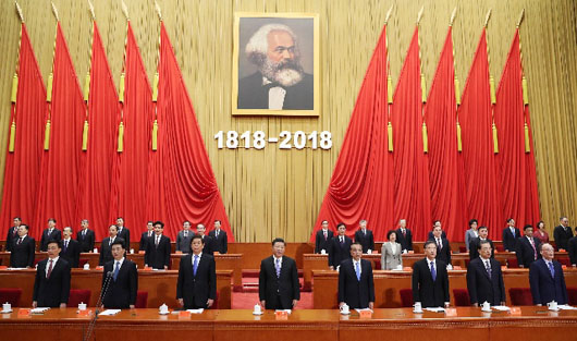 Communist is as communist does: China celebrates Karl Marx but arrests Marxists