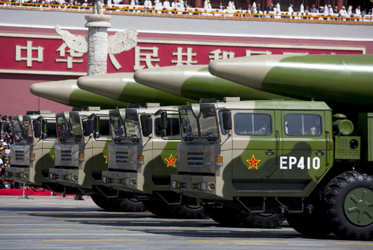 Report: China exploited INF treaty to build massive missile force