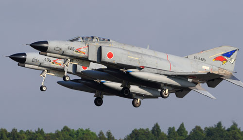 Intruding Chinese aircraft forced 345 intercepts by Japanese fighters last year