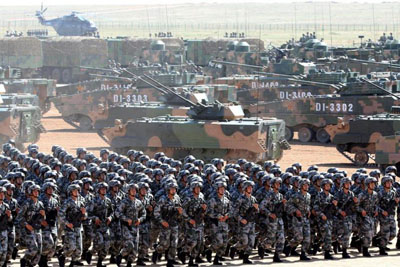 China acknowledges military power projection via 'One Belt, One Road'