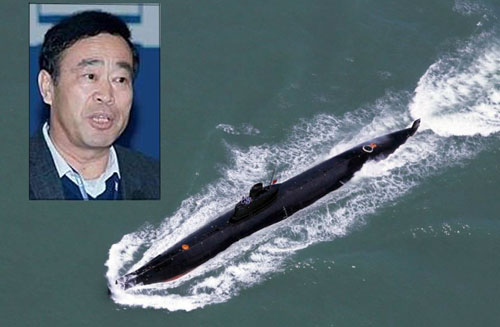 China detains top submarine researcher over Canada ties