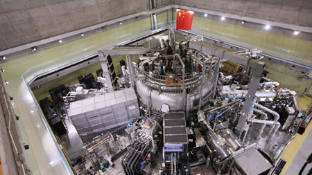 China doubles funding for its nuclear fusion research reactor