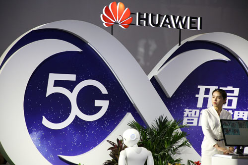 China gaining dominance in 5G systems seen revolutionizing future 'battle networks'