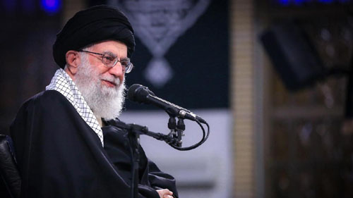 Khamenei presses Iraq to oust U.S. forces; Sanctions cutting lifeline to Iran proxies