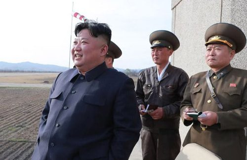 North Korea launches tactical missile; Kim travels to Vladivostok
