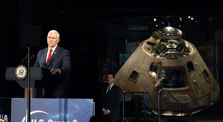U.S. announces combat boots on Moon; PLA convenes its own Moon conference