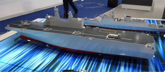 Shipyard imagery points to China power projection aims for Taiwan, Japan island