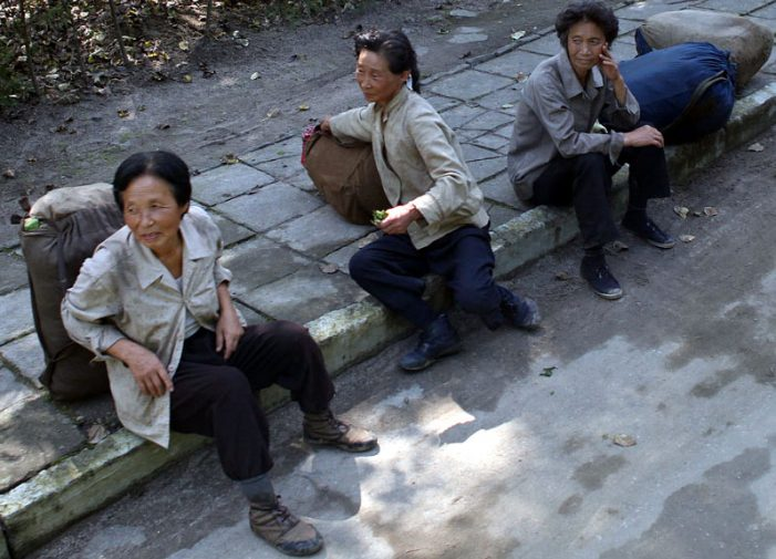 UN report: 3 of 4 North Koreans depend on markets 'to survive'