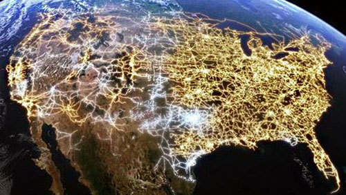General: When critical U.S. power grid was constructed, security was not a factor
