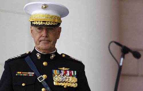 Gen. Dunford: China's militarization of islands, which it pledged not to do, is done deal